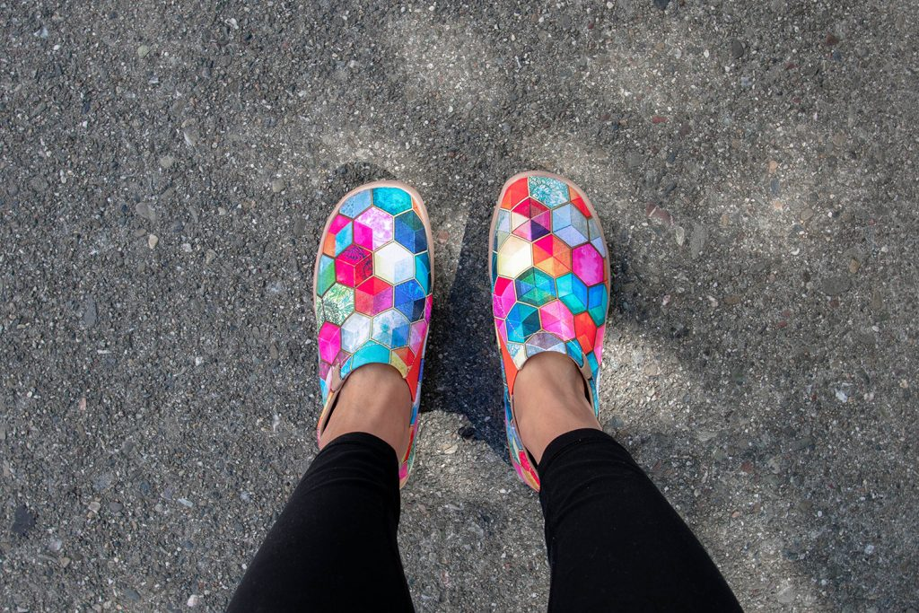 The Stained Glass UIN shoes