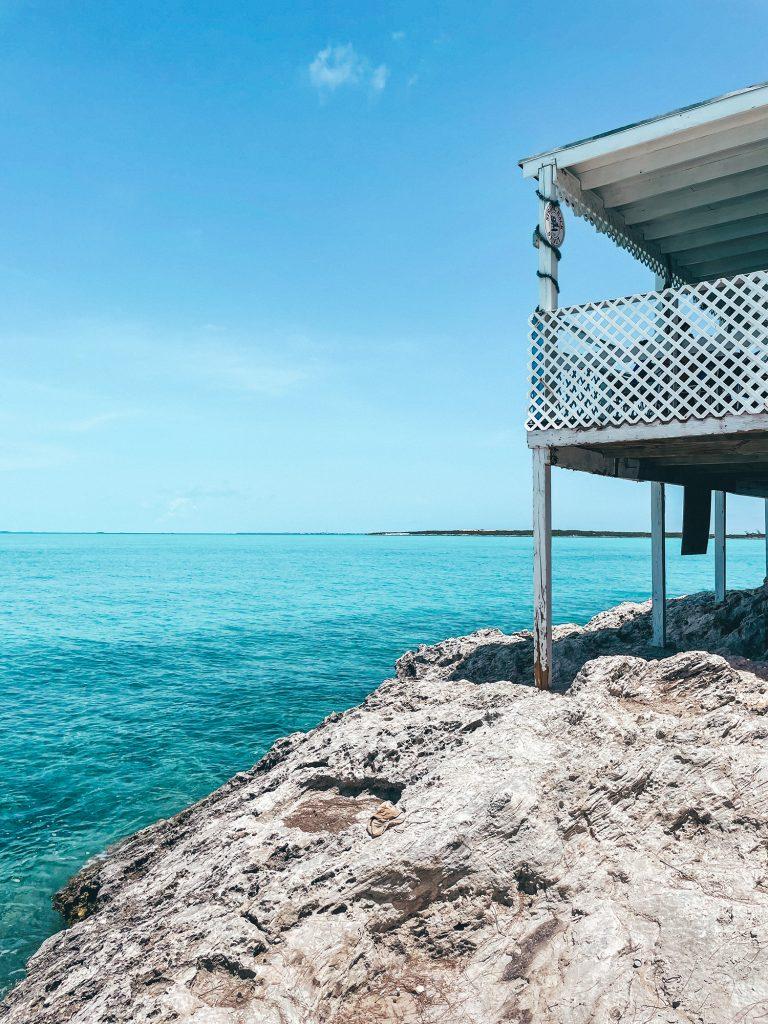 Black Point in the Exuma Islands, Bahamas