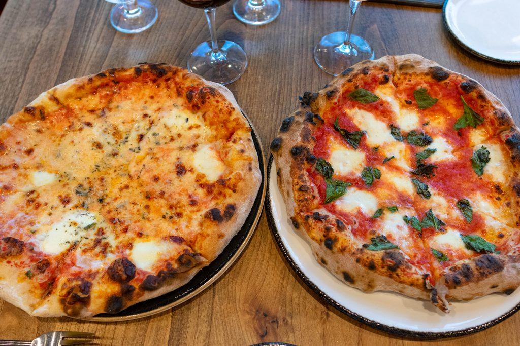 Pizza from Carboni's Ristorante in Winters, California