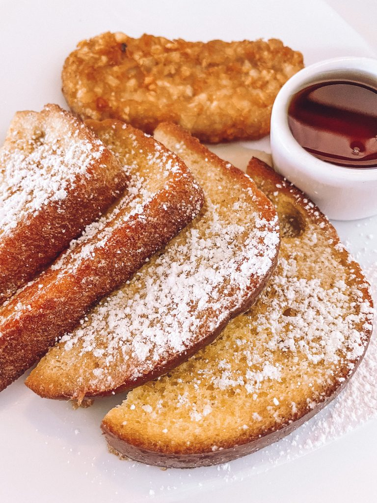 French toast from Staniel Cay Yacht Club