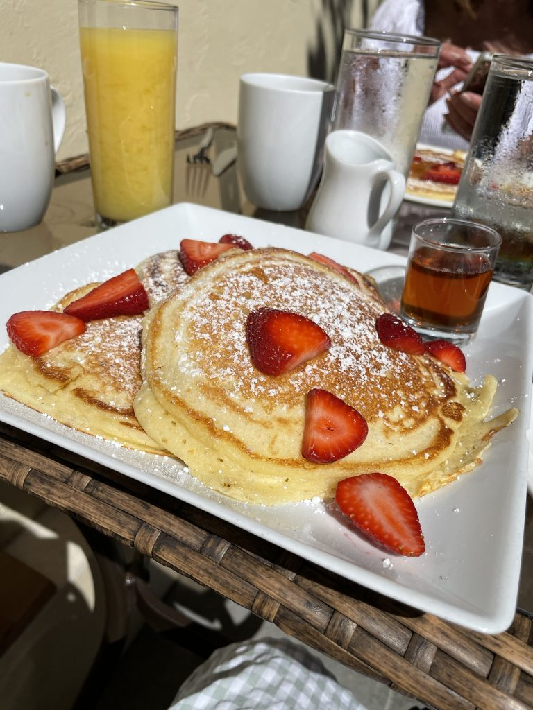 Pancakes from Grace's Table in Napa, California