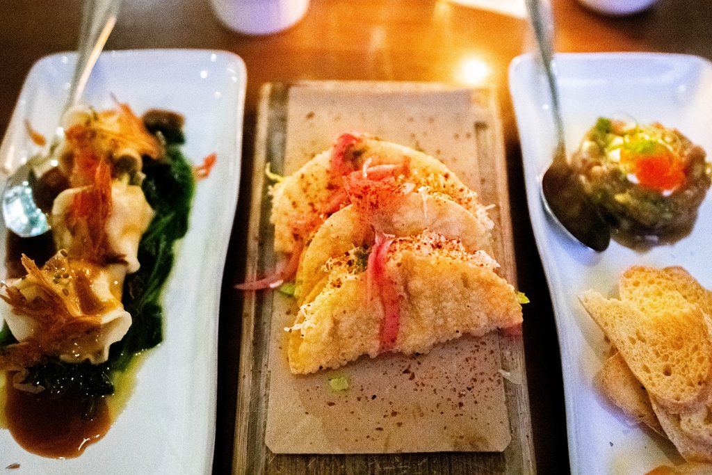 Small plates from Willi's Wine Bar in Santa Rosa.