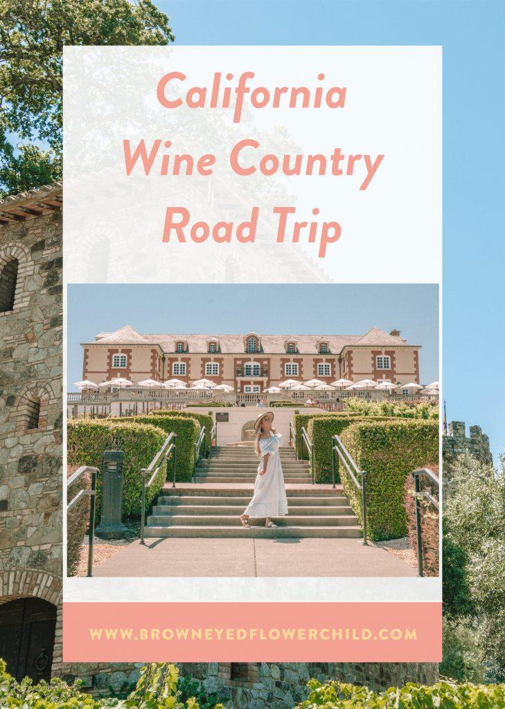 California Wine Country road trip