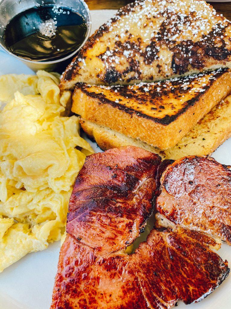 Breakfast at Putah Creek Cafe in Winters, California