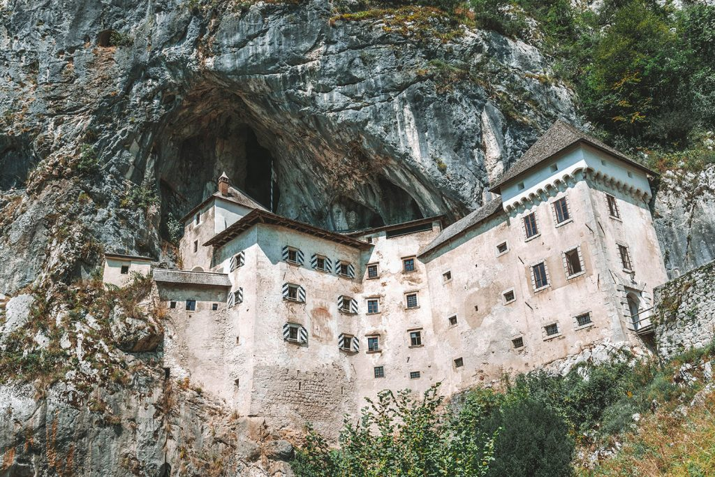 Castle Predjama during a weekend in Slovenia
