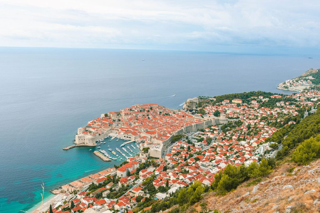 Seeing Dubrovnik from above - a bucket list item