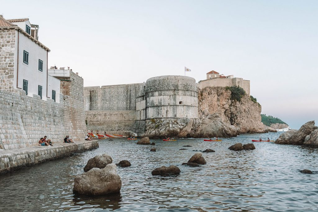 Game of Thrones locations in Dubrovnik