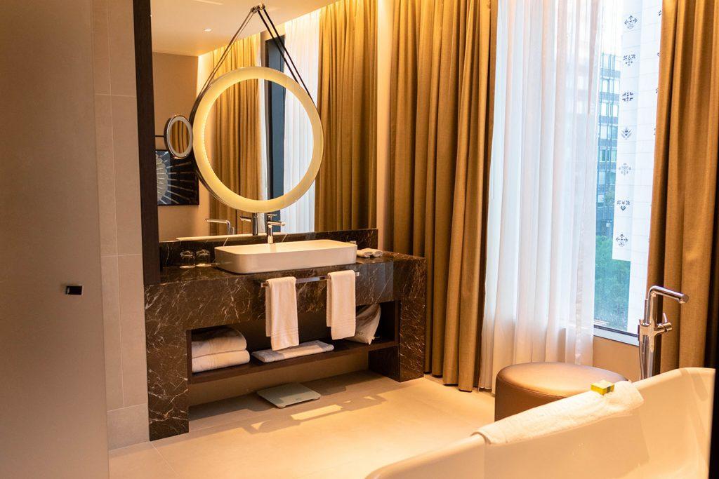A bathroom at InterContinental Ljubljana