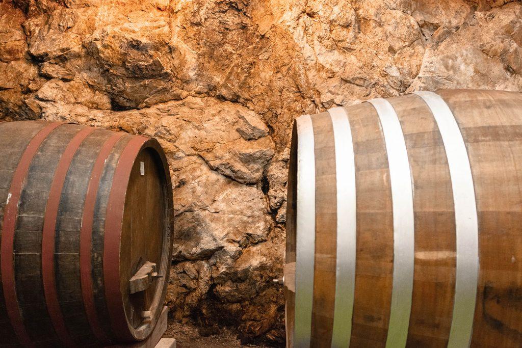 Milos Winery in Ston, outside of Dubrovnik