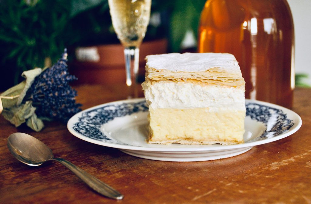 Bled Cream Cake from Slovenia