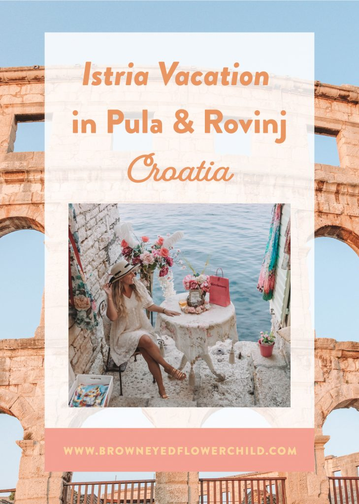 Istria Vacation in Pula & Rovinj, Croatia
