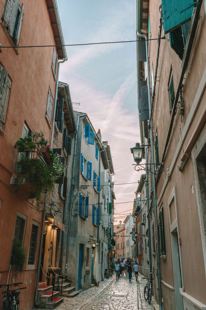 Strolling the streets of Rovinj