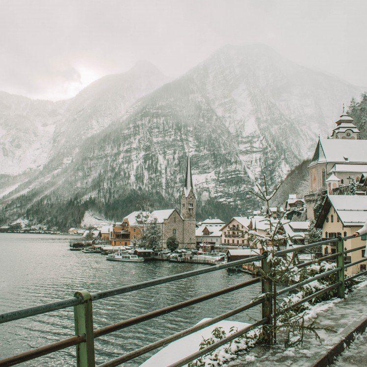 Christmastime in the Austrian Alps Salzburg and Hallstatt